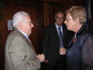L'onorevole Giuseppe Zamberletti