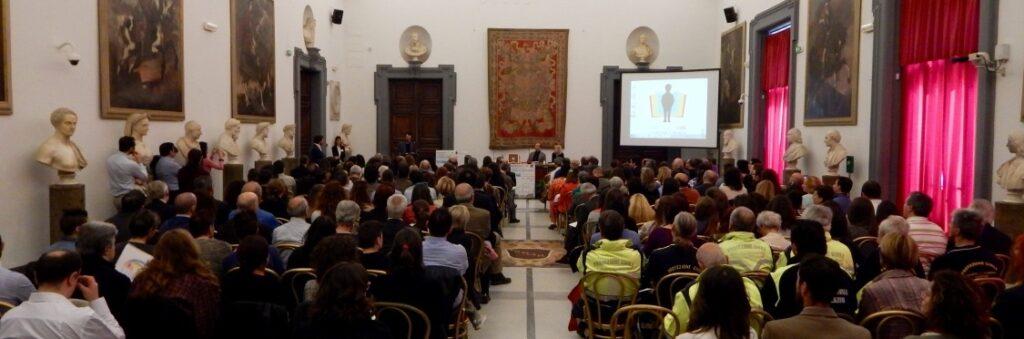 Premio letterario Alfredo Rampi: sala della premiazione