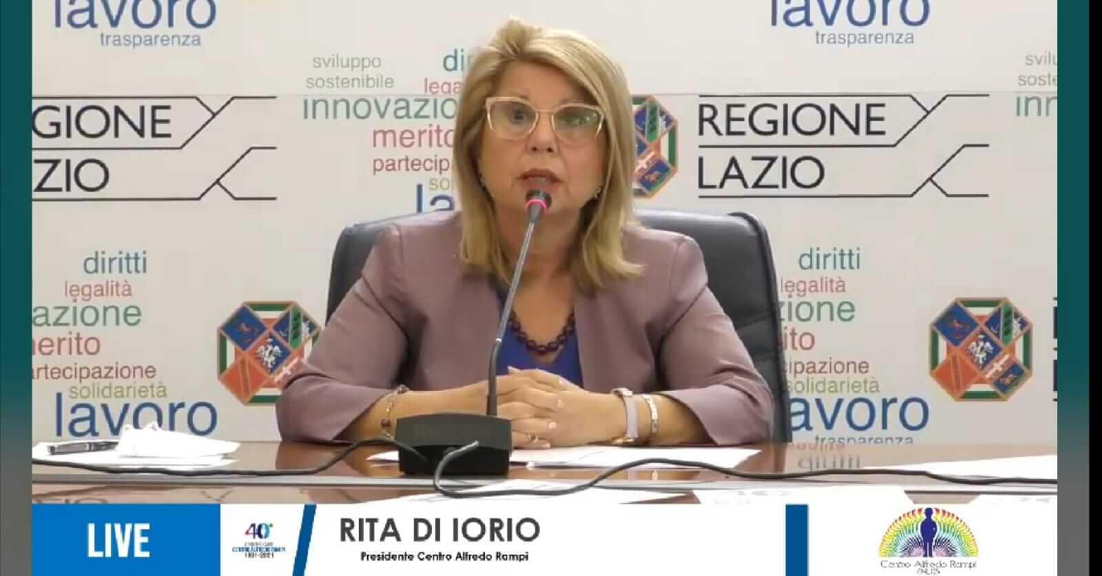 Rita Di Iorio Centro Alfredo Rampi