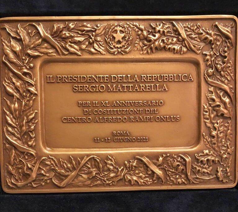 presidente Mattarella Centro Alfredo Rampi