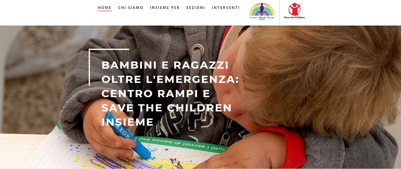 Bambini e Ragazzi Oltre l'Emergenza: Centro Rampi e Save The Children insieme