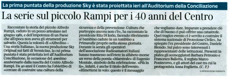 Corriere 13 giugno 2021