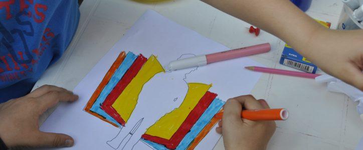 Premio Letterario Alfredo Rampi: dei bambini disegnano il logo