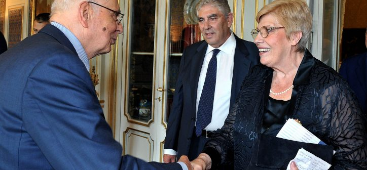 Franca Rampi e Giorgio Napolitano